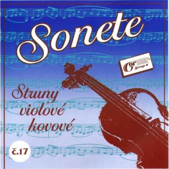 Sonete č. 17 - sada violových strun