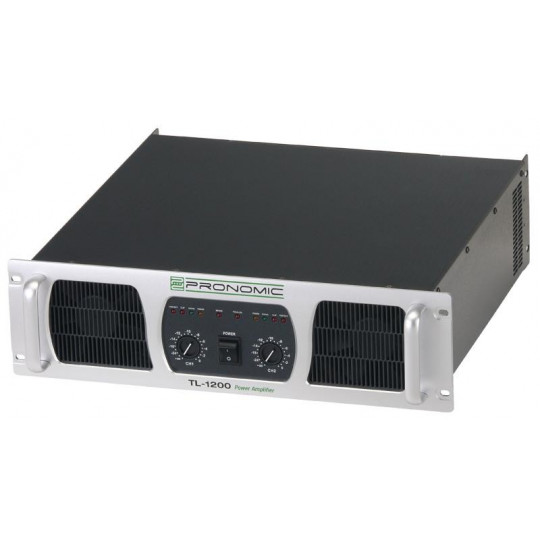 Pronomic TL-1200 zesilovač výkonu, 2 x 2400 W