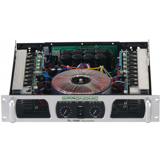 Pronomic TL-700 Amplifier 2x 1600 Watt