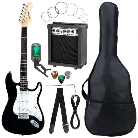 McGrey Rockit  ST-Complete Black - kytarový set