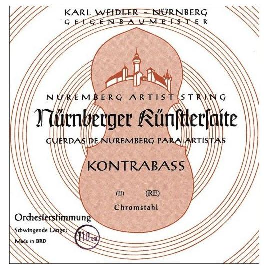 Nürnberger struna pro kontrabas Precizní orchestrální ladění 3/4