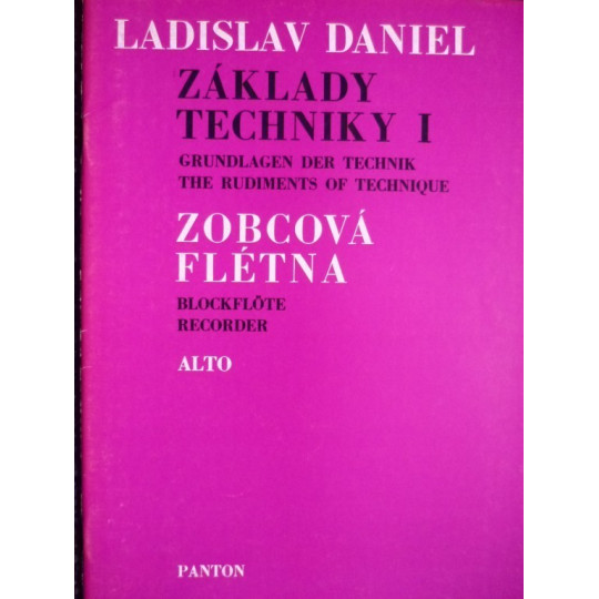 Základy techniky pro alt. flétnu I - L. Daniel