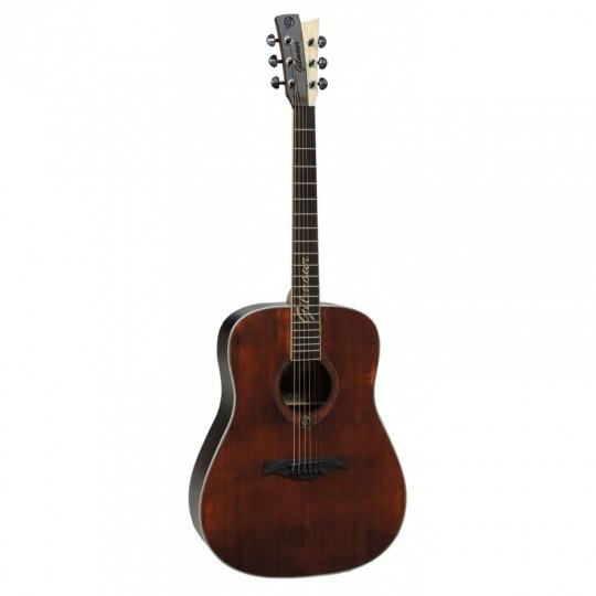 Gilmour ANTIQUE W48 - polomasivní kytara s širším krkem