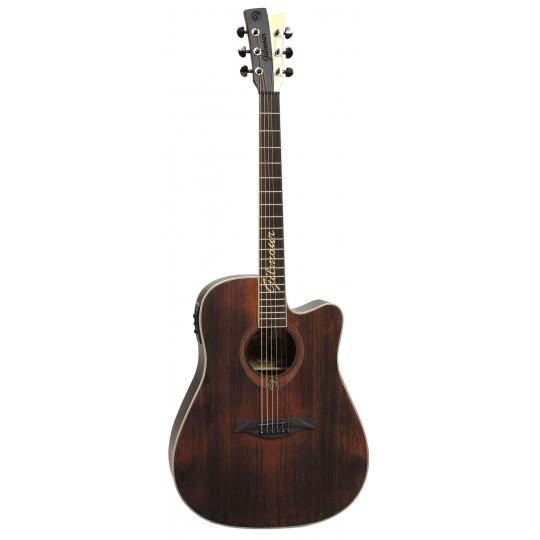 Gilmour ANTIQUE EW48 - polomasivní kytara s širším krkem a elektronikou