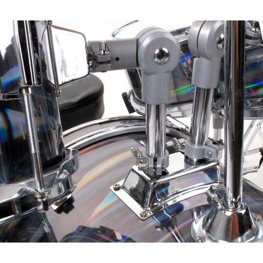XDrum Junior Pro bicí souprava - stříbrná