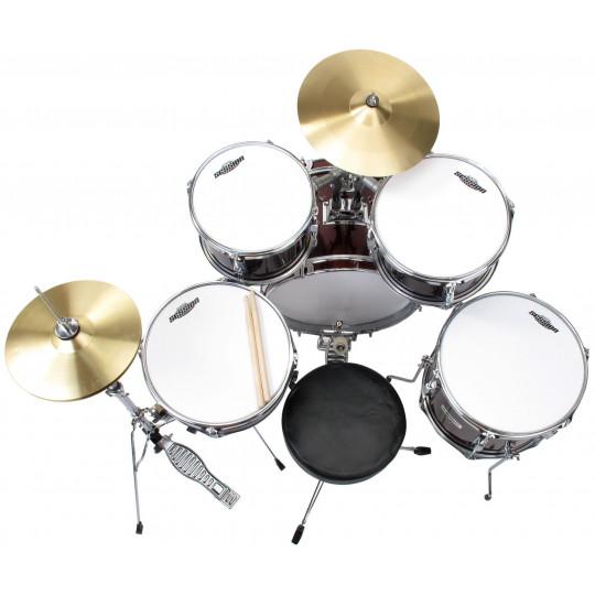 XDrum Junior Pro bicí souprava - červená