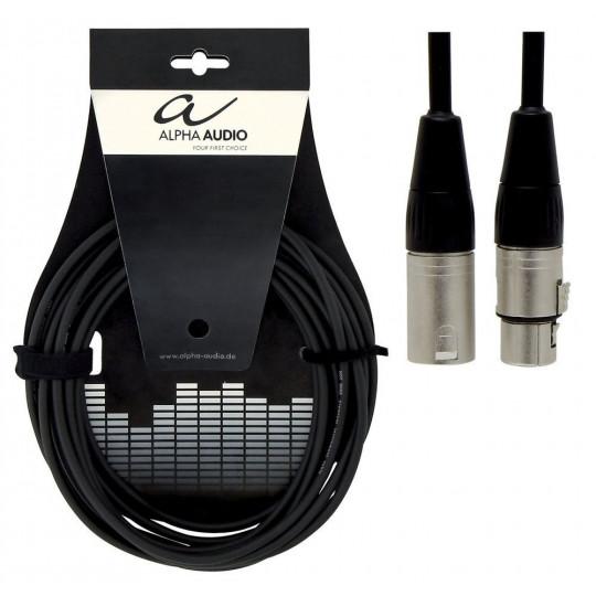 Alpha Audio Pro Line Mic XLR(female) - XLR(male) 9m
