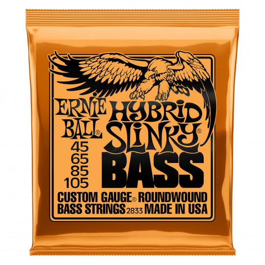 Ernie Ball EB2833 - Hybrid Slinky Bass Nickel Wound .045 - .105