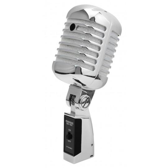 "Pronomic DM-66R dynamický mikrofon ""Elvis""stříbrný"