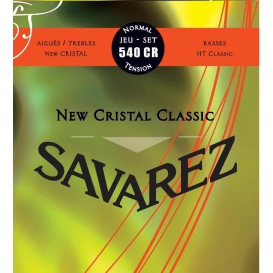 Savarez struny pro klasickou kytaru Corum New Cristal Sada