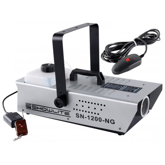 Showlite SN-1200 mlhostroj 1200W s dálkovým ovládáním