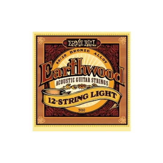 Ernie Ball 2010 EARTHWOOD 12-STRING LIGHT