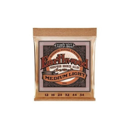 Ernie Ball 2146 EARTHWOOD Phosphor Bronze MEDIUM-LIGHT