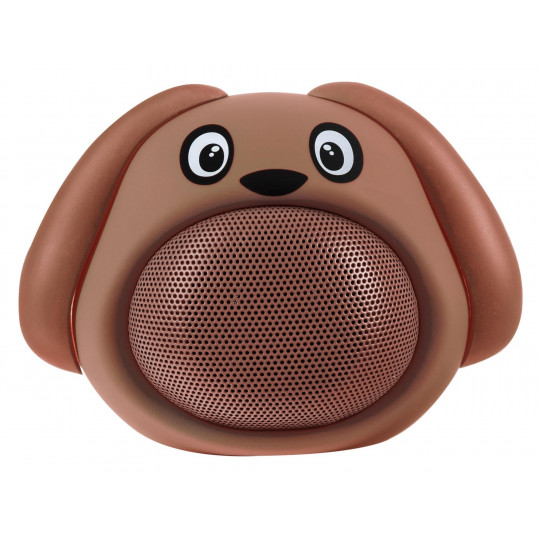 iCutes Bluetooth reproduktor hnědý pes