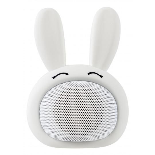 iCutes Bluetooth reproduktor bílý králík