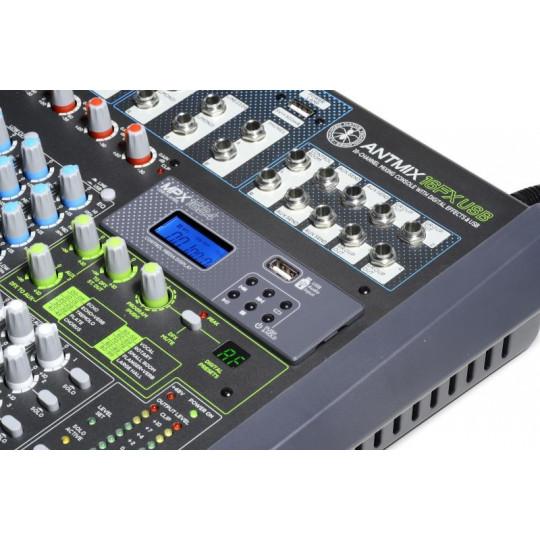 ANT ANTMIX 16FXUSB - mixpult 16 kanálů + FX, USB