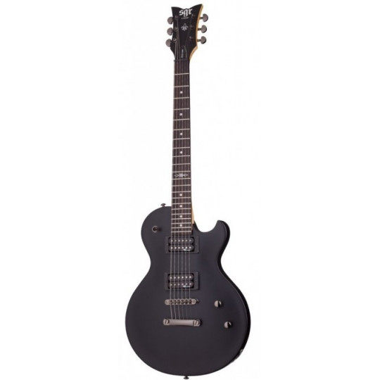 SCHECTER Solo-II SGR Midnight Satin Black