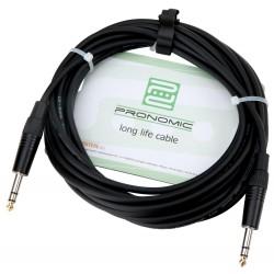 Pronomic Stage INSTS-6 kabel Jack-Jack 6m stereo