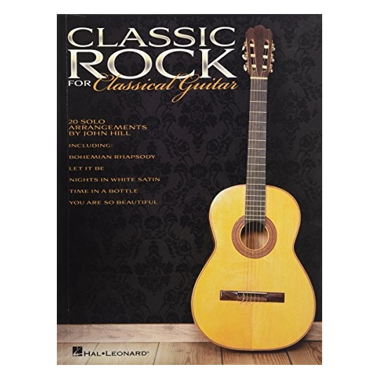 Classic Rock for Classical Guitar - melodie + tabs