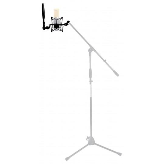 Proline pavouk s popfiltrem pro mikrofony o ⌀ 45 - 52 mm