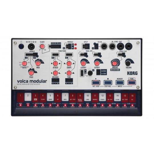 Korg Volca Modular semi-modulární analogový syntezátor