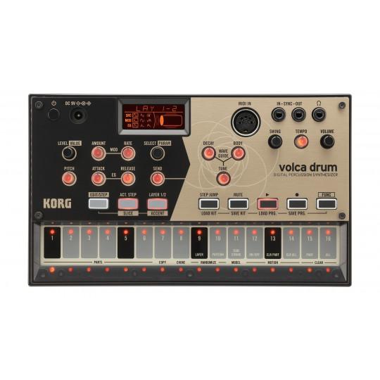 Korg Volca Drum digitální bicí syntezátor