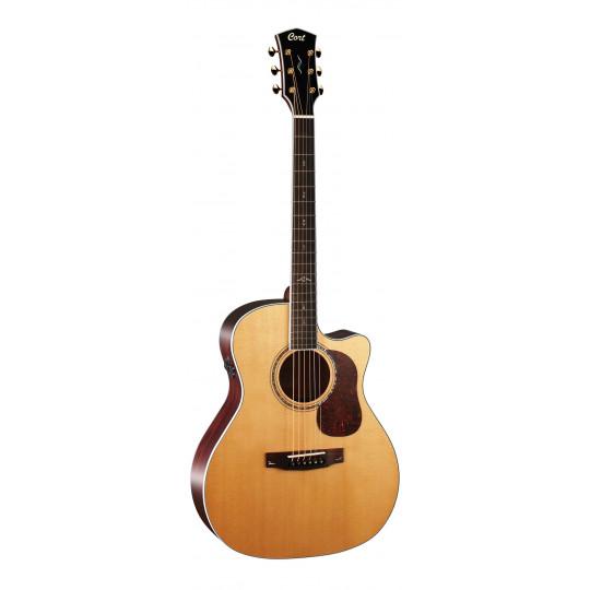 Cort Gold A8 NAT celomasivní elektroakustická kytara
