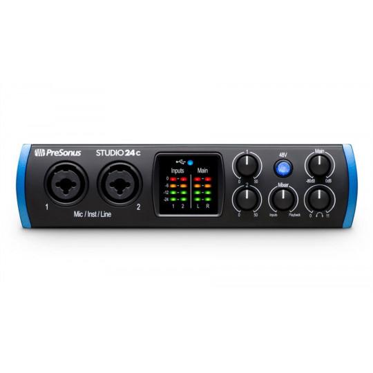 PreSonus Studio 24c USB-C zvuková karta