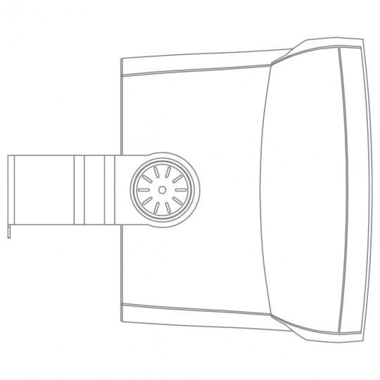 """Audac WX802/OW 8"""" venkovní nástěnný reprobox"""