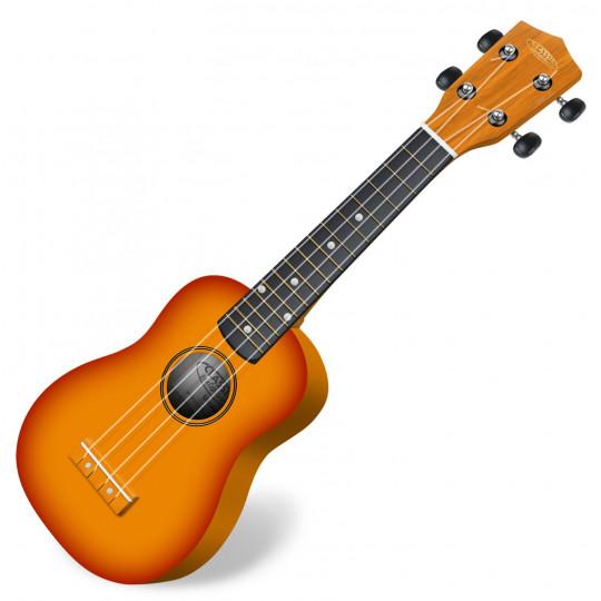 Classic Cantabile US-100 SB sopránové ukulele sunburst
