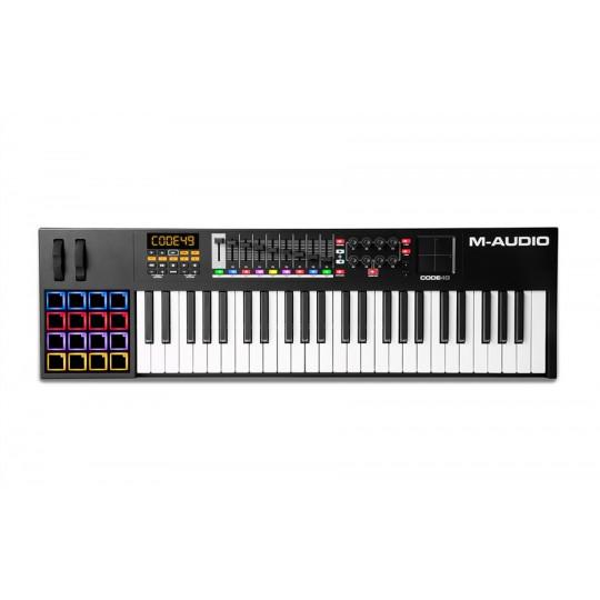 M-Audio CODE 49 Black midi keyboard kontroler