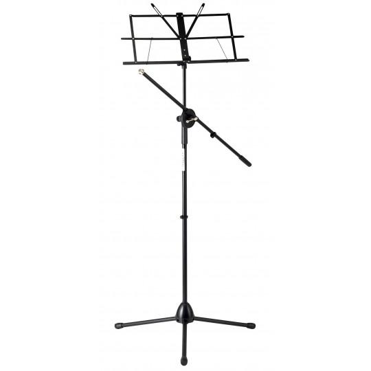 Proline notový stojan s mikrofonním ramenem