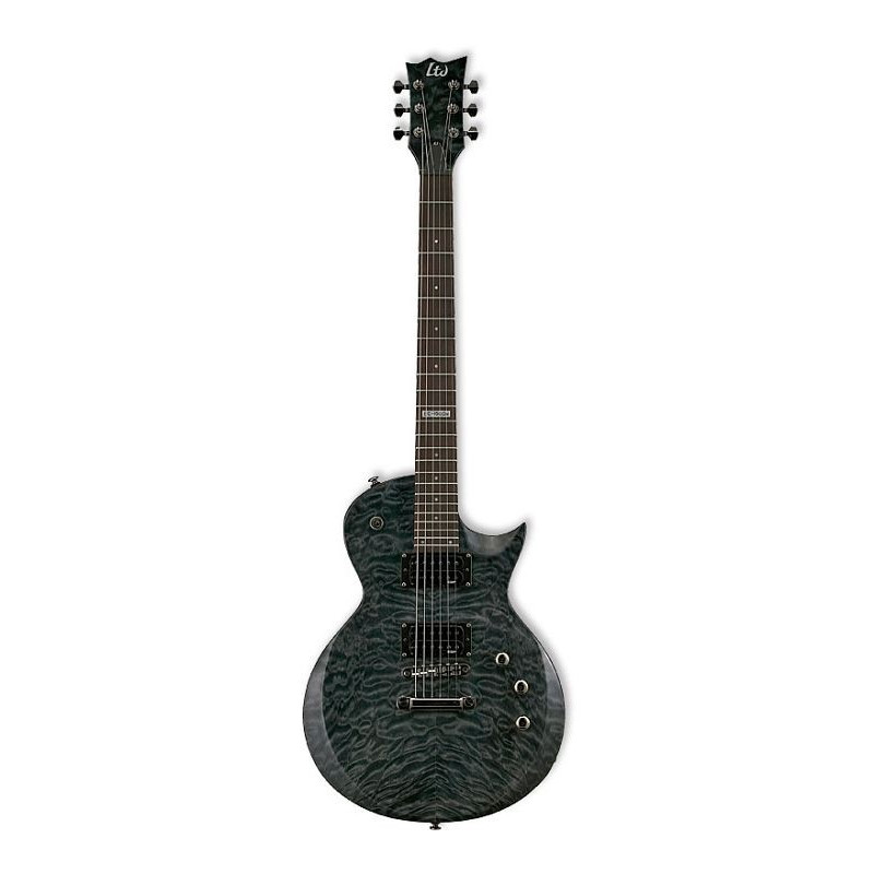 ESP LTD EC-100QM STBLK - elektrická kytara