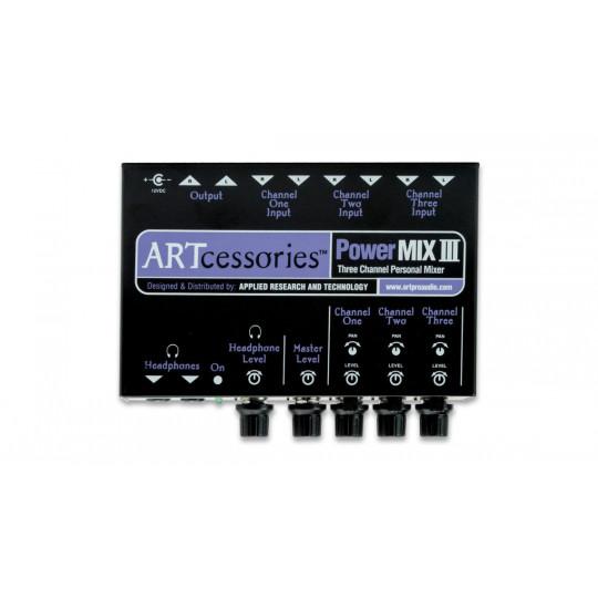 ART POWERMIX III 3-kanálový stereo osobní mix