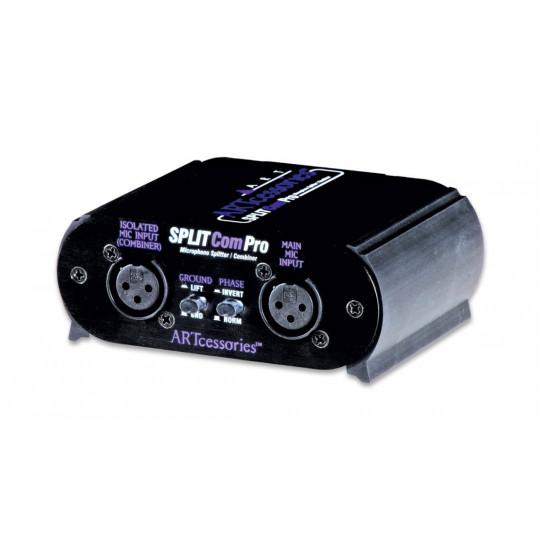 ART Splt Com PRO splitter/slučovač nízkoimpedančního mikrofonního signálu