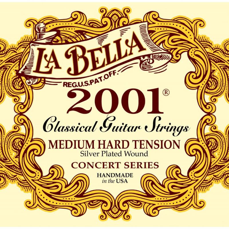 LA BELLA 2001 Medium Hard - struny pro klasickou kytaru