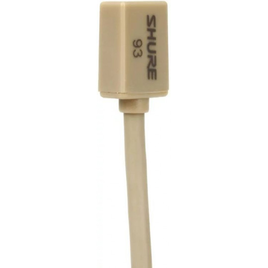 SHURE WL93T - kondenzátorový mikrofon klopový (tělová barva)