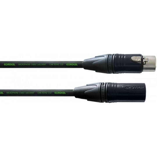 Cordial CRM 7,5 FM-Black mikrofonní kabel 7,5 m