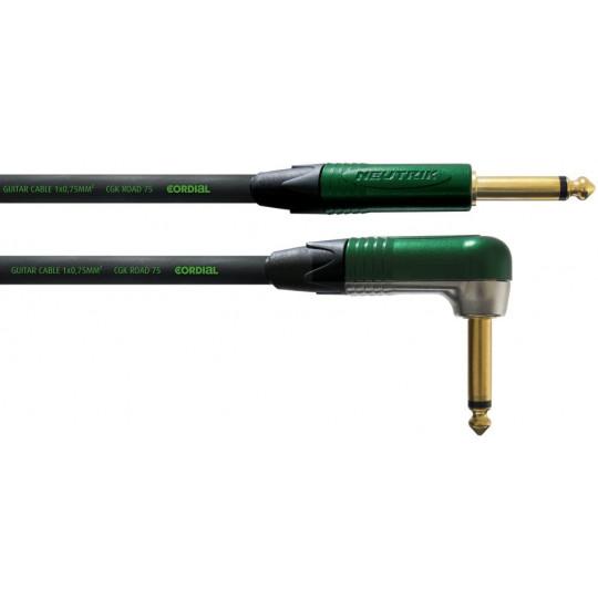 Cordial CRI 9 PR nástrojový kabel lomený 9 m