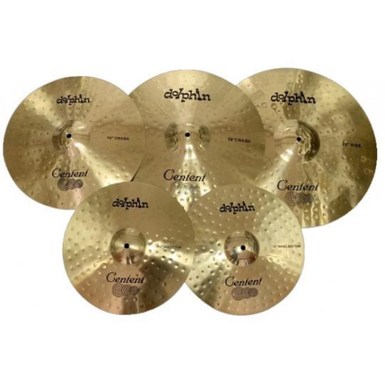 Centent Brass Cymbals Set