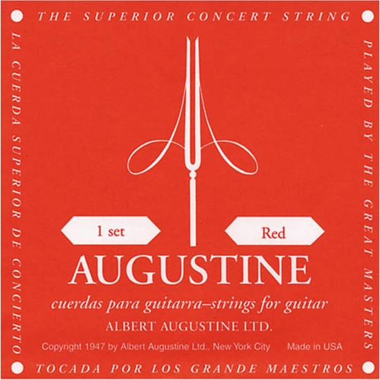 Augustine struny pro klasickou kytaru Červená sada