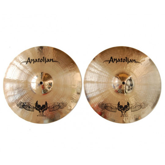 """Anatolian - ULTIMATE HELL hi hat 14"""" (US 14 HLHHT)"""