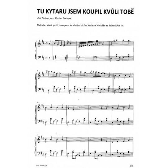 Slavné melodie 7 v lehké úpravě pro klavír + CD