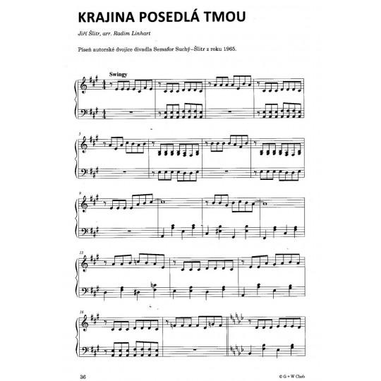 Slavné melodie 8 v lehké úpravě pro klavír + CD