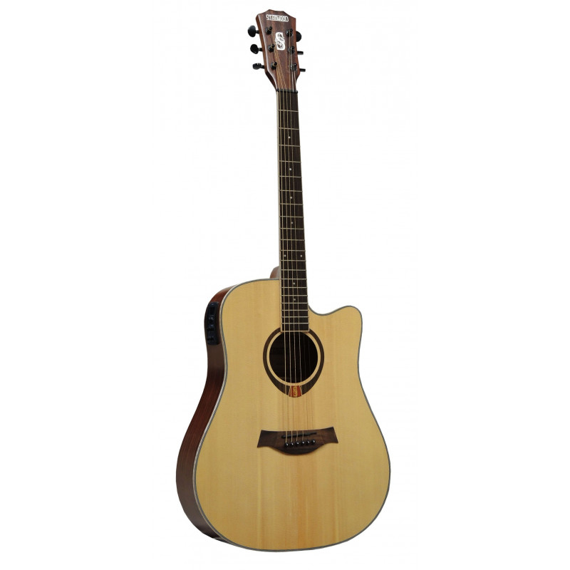 Stanwood PRO4 NT CEQ akustická kytara polomasiv