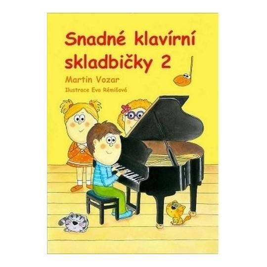 Snadné klavírní skladbičky II. - Martin Vozar