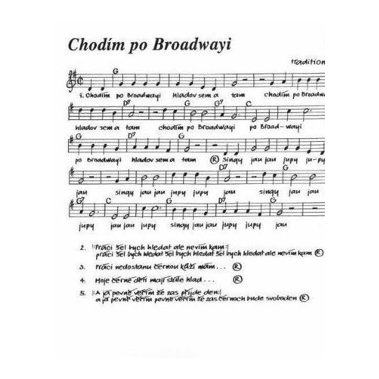 Sborník písní v úpravě pro zobcové flétny - 1. díl