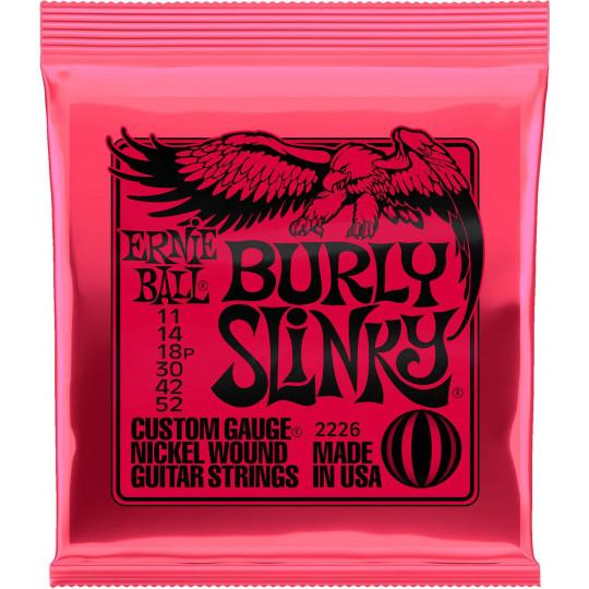 Ernie Ball 2226 Burly Slinky 11 / 52 struny pro elektrickou kytaru