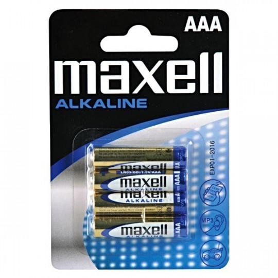 Maxell LR03 AAA baterie (4ks)
