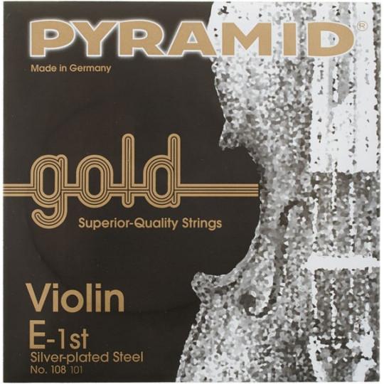 PYRAMID Gold houslová struna E1 4/4